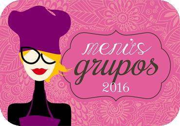 MENUS GRUPOS 2016