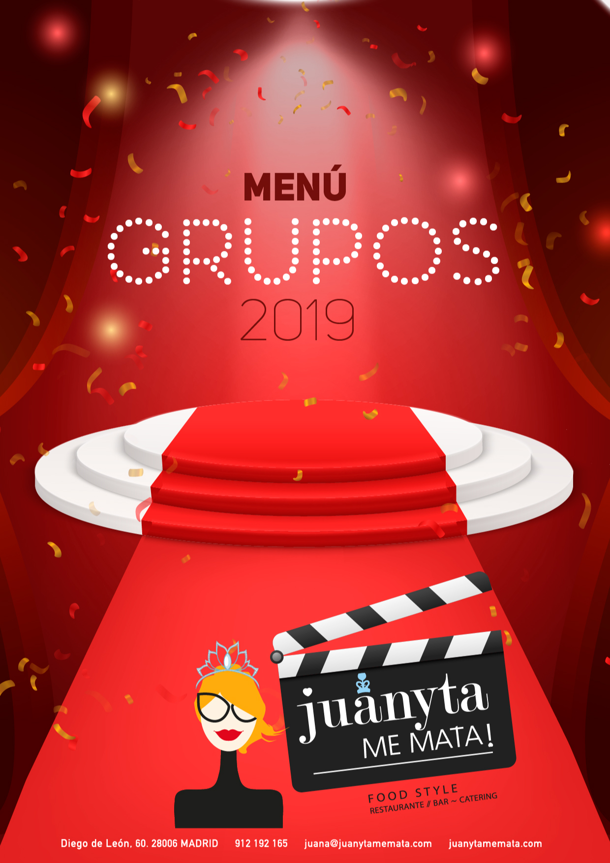 MENU GRUPOS 2019